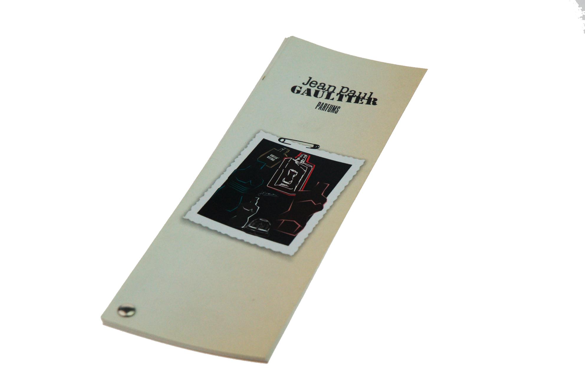 Brochure éventail